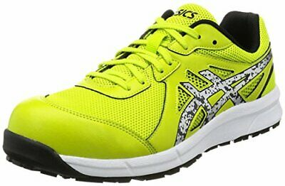 575872aa458 Asics safety shoes 23.5 work shoes Win job FCP106 8993 lime Silver working  JAPAN