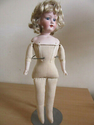 "Antique German Armand Marseille #390n DRGM 246 1 1/2"" Bisque head doll,18"""