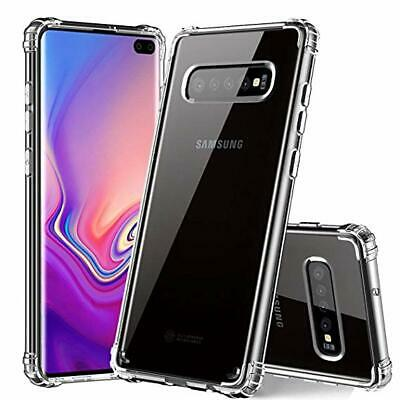 CLEAR Case For Samsung Galaxy S10 Plus S10 S10e Silicone Gel Shockproof TOUGH