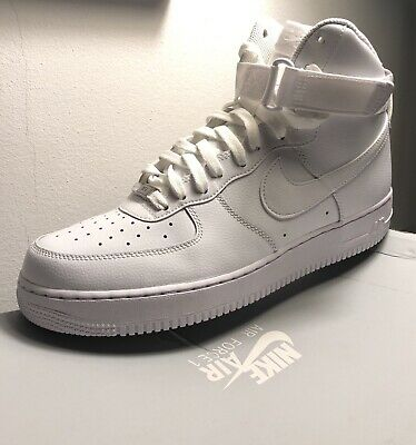 online store b9c97 a755f NIKE Air Force One High - size 45 - NUOVE con scatola - Bianche - 100