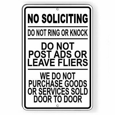 Shhhh CRAZY DOGS Do Not Knock NO SOLICITING Solicitors metal print tin sign 8x12