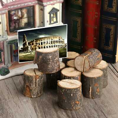 50pcs Porte Cartes En Bois Pinces De Carte Didentite Decorations Mariage