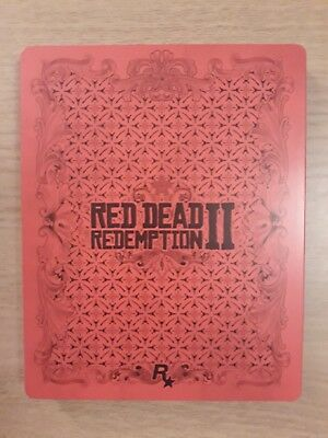 Red Dead Redemption 2 Rare Steelbook Only NO GAME