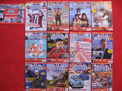 12 x Best of British Past And Present Magazines. All 12 from 2018.