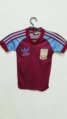 Adidas 1982 83 West Ham Match Worn Home Shirt | Vintage