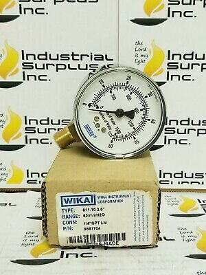 "Wika Instrument Corporation 611.10 2,5"" P/N 9851704 *FREE SHIPPING*"