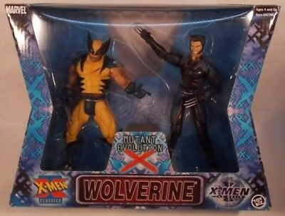 Marvel Legends Wolverine Classics X-Men Mutant Evolution Of X Movie Hugh Jackman