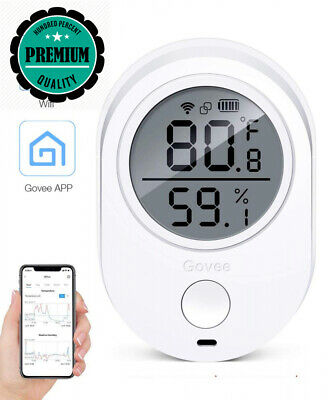 Govee Wireless Thermometer/Hygrometer Bluetooth for iPhone/Android -Smart...