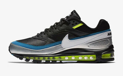 san francisco ce494 77b6e Nike Air Max 97 BW QS Skepta X Inspired Black Lime UK 7-11 LIMITED