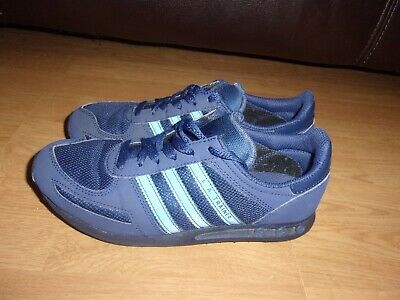 best sneakers 2d21a a4efe Adidas Originals L.A. Trainer Navy Blue mens or boys trainers size 4