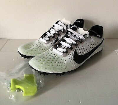 591a3a67998 Nike Zoom Victory 3 Track   Field Spikes White Black Oreo 835997-107 Size  4.5