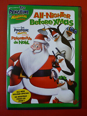 The Penguins of Madagascar: The All-Nighter Before XMas Christmas DVD Bilingual