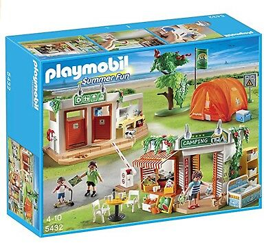PLAYMOBIL 5432 Camp Site Summer Fun Set NEW (Other)