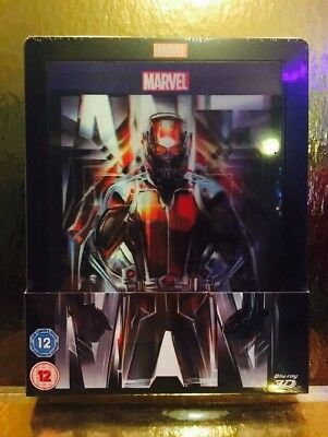 Steelbook Blu-ray Ant Man [ Edition Zavvi Limited To  4000  Ex ] 2D /3D