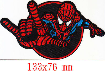 Marvel Avengers Spiderman iron-on patch superhero embroidered logo badge f tw