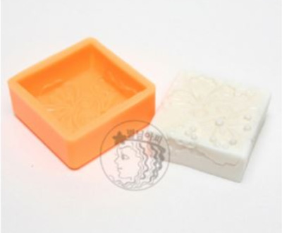 Traditional Antique Butterfly Silicone soap Mould plaster Mold