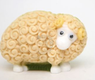 Ram (sheep) Silicone soap Mould plaster Mold