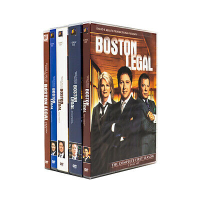 Boston Legal: The Complete Series Season 1-5 [DVD Set Shatner Bergen Drama] NEW
