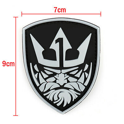 Glow Medal Of Honor MohKing Neptune Tactical Air-soft Hook Loop Patch Klettband