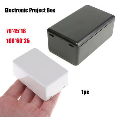 ABS Plastic Electronic Project Box Waterproof Cover Project Enclosure Boxes UK