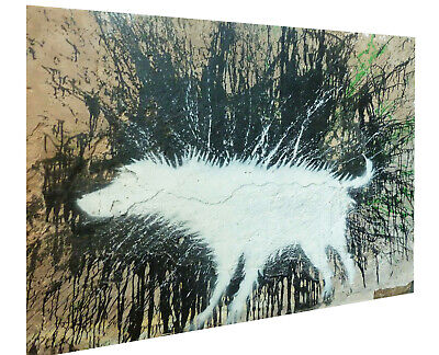 banksy wet dog art street painting graffiti A1 SIZE PRINT FOR YOUR FRAME poster