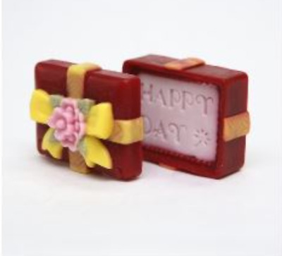 Happy Day jewel case 2 set (removable) Silicone soap Mould plaster Mold
