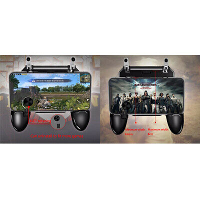 Easy Installation PUBG Mobile Wireless W11+ Gamepad Remote Controller Joystick