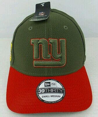78bf5e92306 New Era On-Field 39Thirty NFL New York Giants Salute To Service Hat Cap Size