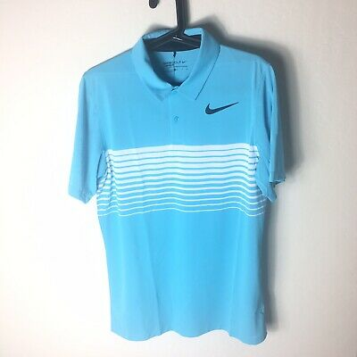 a15c3cfc NIKE MENS MOBILITY Speed Stripe Golf Polo Sz Small AA3706-432 ...