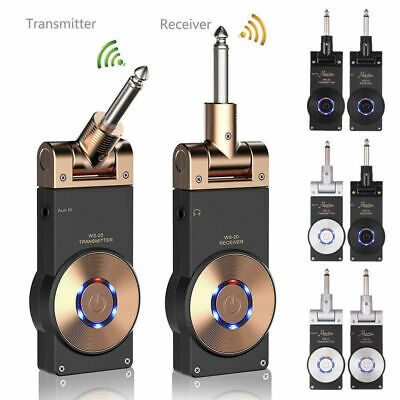 Hot 2.4G Wireless Rechargeable Electric Guitar Transmitter Receiver Set 30M W2K0