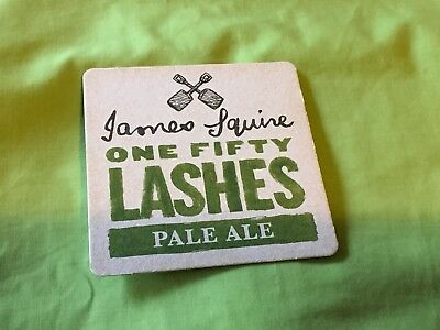 Collectable drink coasters - JAMES SQUIRE ONE FIFTY LASHES-PERFECT CONDITION.