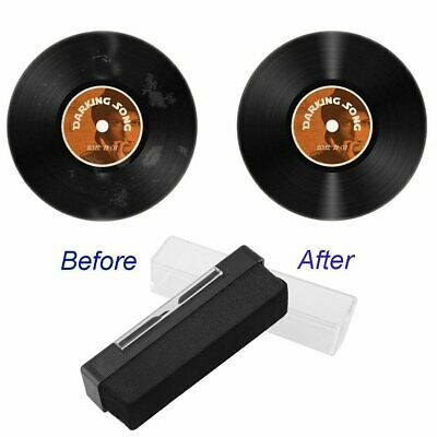 Vinyl Record Cleaning Brush Set Stylus Velvet Anti-static Cleaner Kits 2 in 1 AU