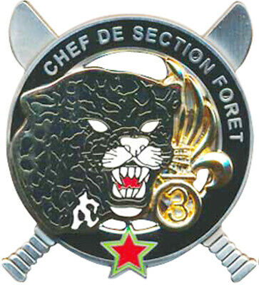 Chef de Section Forêt, C.E.F.E, 3° REI, LEGION ETRANGERE, Boussemart 2015 (1495)