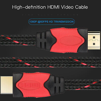 LOT Ultra High Speed 4K HDMI UHD TV Cable 3D 1080P@60Hz 18Gbps PS4 Xbox 3FT-30FT