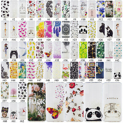 Soft Thin Painted TPU Case Silicone Phone Cover For Samsung Galaxy A6 A7 A8 2018