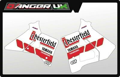 Yamaha Yz 250 1988 1989 Tank Rad Shrouds Graphics Decals Chesterfield