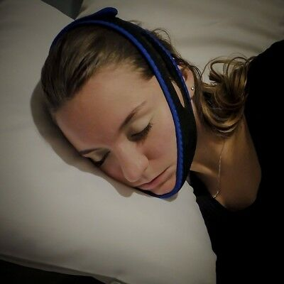 Sleep Anti Snoring Chin Support Strap Belt Stop Snore Device Apnea Jaw Sleeping