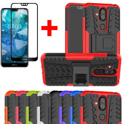 For Nokia 8.1/7.1/3.1 Plus/6.1 Shockproof Rugged Heavy Duty Gel Hard Case Cover