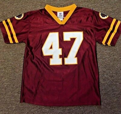 Redskins NFL Team Jersey by Reebok  47 Cooley Youth L 12-14 Great Shape 0ce101e66