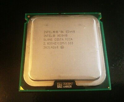 Cpu 771 Xeon E5440 2.83 Ghz Slans Socket J Lga Intel Processore Prozessor