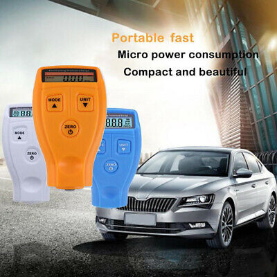 Mini Paint Film Meter Tester Coating Measure Thickness Gauge Digital Portable