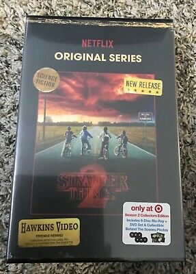 NEW TARGET EXCLUSIVE - Stranger Things Season 2 Blu-Ray Collector's Edition Set