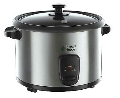 Russell Hobbs 19750 Rice Cooker And Steamer, 1.8 Litre, Silver Steamer Stainless