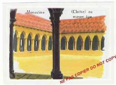 MONASTERE MONASTERY CLOITRE MIDDLE AGES ABBAYES MEDIEVAL GOTHIC ROMAN IMAGE 60s