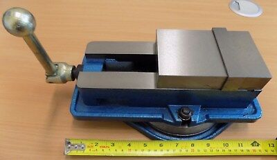 "100mm (4"") Machine Vice with Swivel Base - 120mm opening - QM16100"