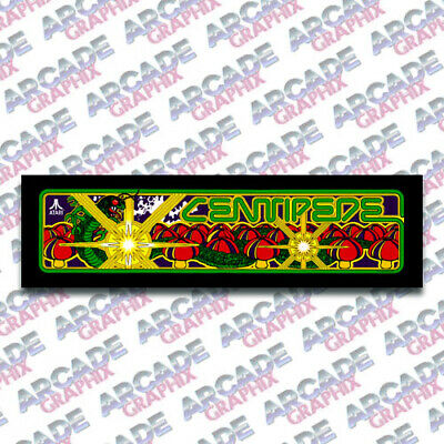 Arcade1up Cabinet Centipede Arcade Game Marquee Graphic Decal Sticker