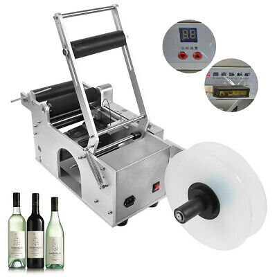 New Semi-automatic Labeling Machine for Round Bottles LT50S Labeler High Quality