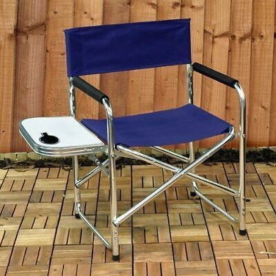 Aluminium Folding Portable Camping Picnic Party Chairs With Side Table