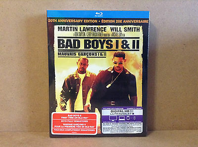 Bad Boys / Bad Boys II - 2-Pack (Blu-ray Disc, 2015, 2-Disc Set,) *NEW*