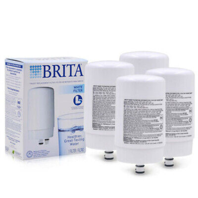 3PCs Brita FR-200 White On Tap Faucet Replacement Filter, FF-100 OPFF-100, New